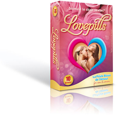 LovePills - estimulante sexual 10 cápsulas